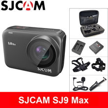 SJCAM SJ9 MAX Action Camera 4K WiFi Sports DV 1080P Full HD 10m Body Waterproof Live Streaming 2.33 inch Screen Outdoor SJ 9 Cam(China)