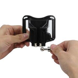 """Image 4 - Support de boucle de verrouillage de la taille de tir pour GoPro Hero 7 6 5 Yi 4k Nikon SJCAM H9r sangle étui araignée avec accessoire de vis 1/4"""""""