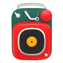 Altavoz Bluetooth Etro, Mini Subwoofer Vintage nostálgico portátil, micrófono de aluminio, reproductor de música corporal Mini Cannon