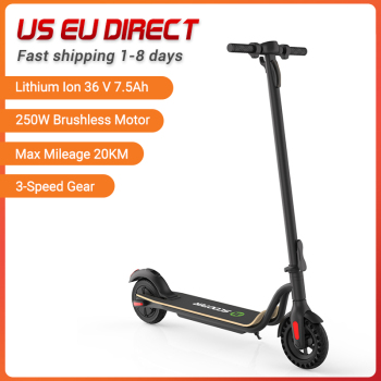 Megawheels S10 250W Portable Electric Scooter Mini Folding E-Scooter Foldable Electrico Skateboard Adult 20km 8 Inches Tire 1