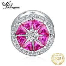 JewelryPalace Grapefruit Slice 925 Sterling Silver Beads Charms Original For Bracelet original Jewelry
