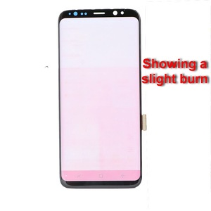 Image 3 - ORIGINAL SUPER AMOLED S8 LCD For SAMSUNG Galaxy S8 G950 G950F S8Plus G955 G955F With Burn red mark LCD Touch Screen Digitizer