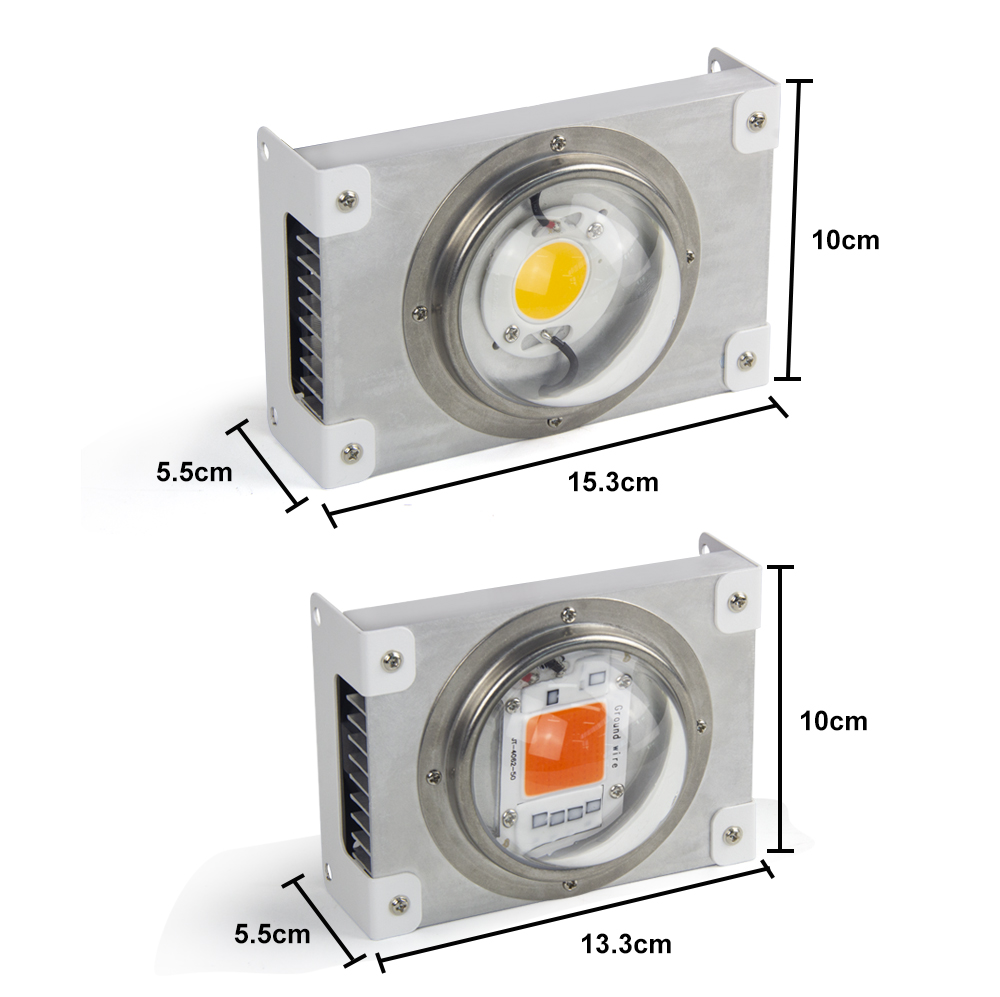 Image 2 - CREE CXB3590 COB LED Grow Light Full Spectrum 100W Citizen 1212 LED Plant Grow Lamp for Indoor Tent Greenhouses Hydroponic Plant-in LED Grow Lights from Lights & Lighting