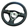 Кожаный чехол рулевого колеса автомобиля из микрофибры для Toyota rush (с шипами)  чехол para volante  оплетка на рулевое колесо