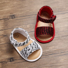 Летняя детская обувь для малышей новорожденных пряжки девочек