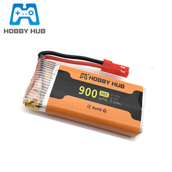 lipo Battery 3.7v 900mah 30c For 8807 8807w A6 A6W Rc Quadcopter drone Spare Parts 3.7v drone battery jst plug image