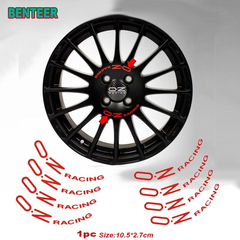 8 шт. наклеек на автомобильные колеса для OZ Racing