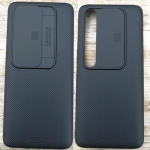 Image 1 - Nillkin CamShield funda deslizante para cámara, para Xiaomi Mi 10 Mi10 Pro, funda protectora para lente