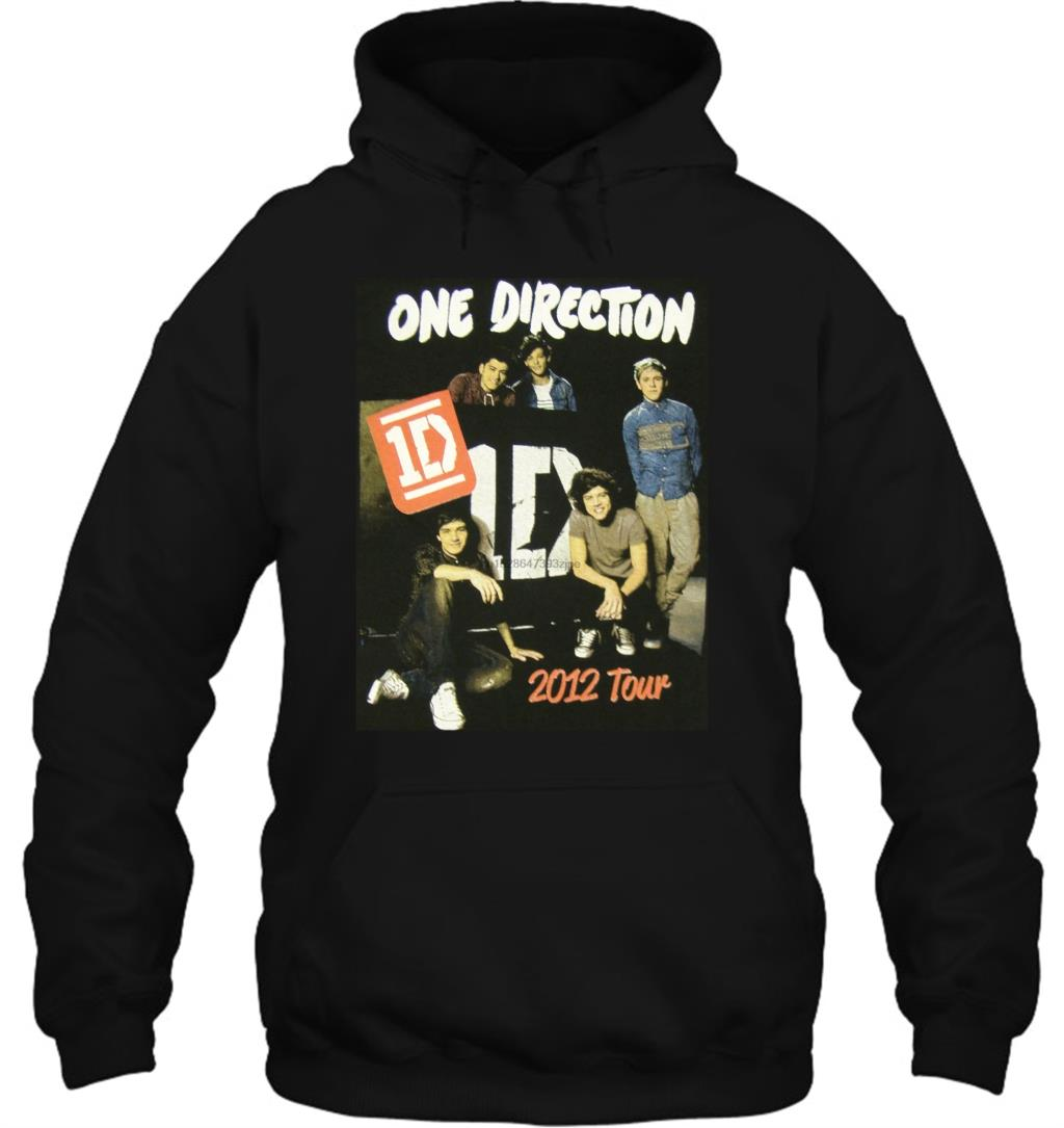 One Direction Up All Night Concert Tour Black Streetwear Men Women Hoodies Sweatshirts
