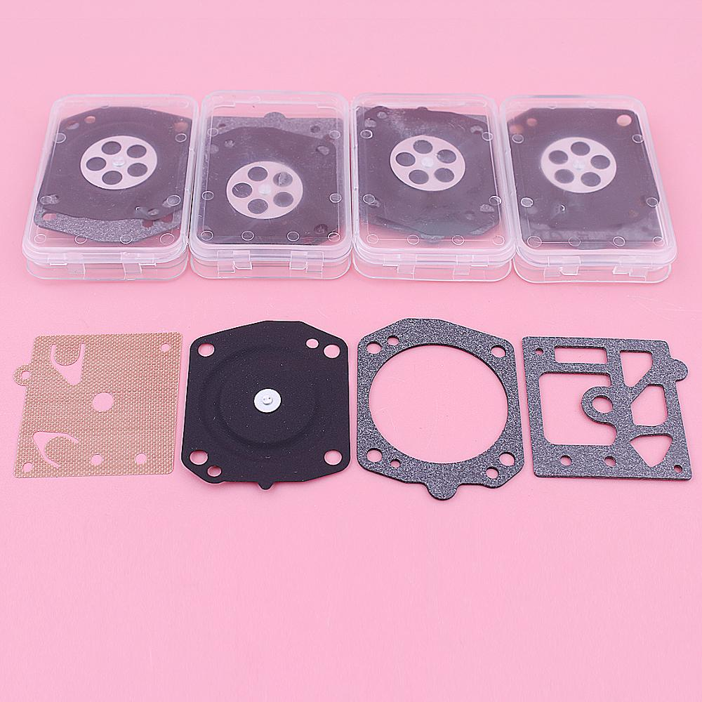 5 X Carburetor Diaphragm Gasket Repair Kit For Stihl 044 046 029 039 Zenoah 62cc 6200 7800 Chainsaw Part Carb Rebuild Set