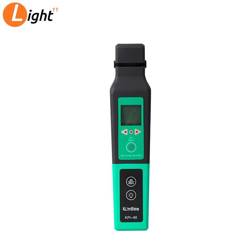 KFI-40 Live Fiber Optical Identifier With LED Display Identifying Direction Break Checker FTTH Testing Tool