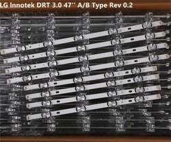 """Светодиодный Подсветка полосы для LG 47 """"дюймов ТВ innotek DRT 3,0 47"""" 47LB6300 47GB6500 47LB652V 47LB650V LC470DUH 47LB5610 47LB565V"""