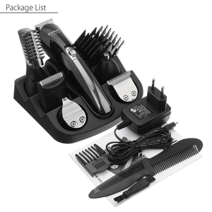 Image 5 - Kemei 11 In 1 Professional Hair Trimmer Multifunction Hair Clipper Shaver Set Electric Shaver Beard Trimmer Hair Cutting Machine