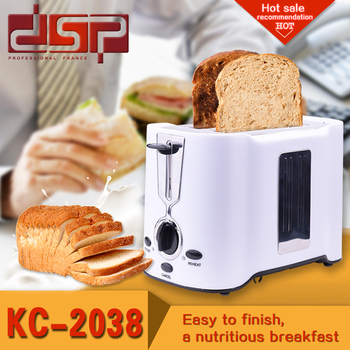 Toaster 2 Slices Warm Liner Household Bread Maker DSP Baking Machine EU/UK Plug Breakfast Machine 220-240v