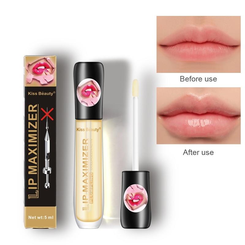 HOT!!Lip Plumper Moisturizing Smooth Fine Lines Brighten Lip Color Lip Plumper Oil Lip Care