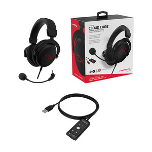 Image 4 - Kingston HyperX Wired Headset Cloud Core+ 7.1 Plus Hifi Surround Sound Gaming Headphones Noise Cancelling Microphone Controller