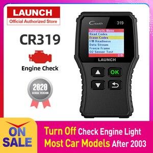 Image 1 - Launch lector de códigos de coche Creader 319 OBD2, OBDII, OBD 2, herramienta de escaneo, comprobación de código de fallas de motor, lectura cr319, CR3001, Creader 3001