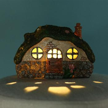 LED Solar Fairy House Light Anti-corrosion Solar Powered Pathway Lights Decorative Outdoor Lawn Yard Lamp For Garden Patio 1