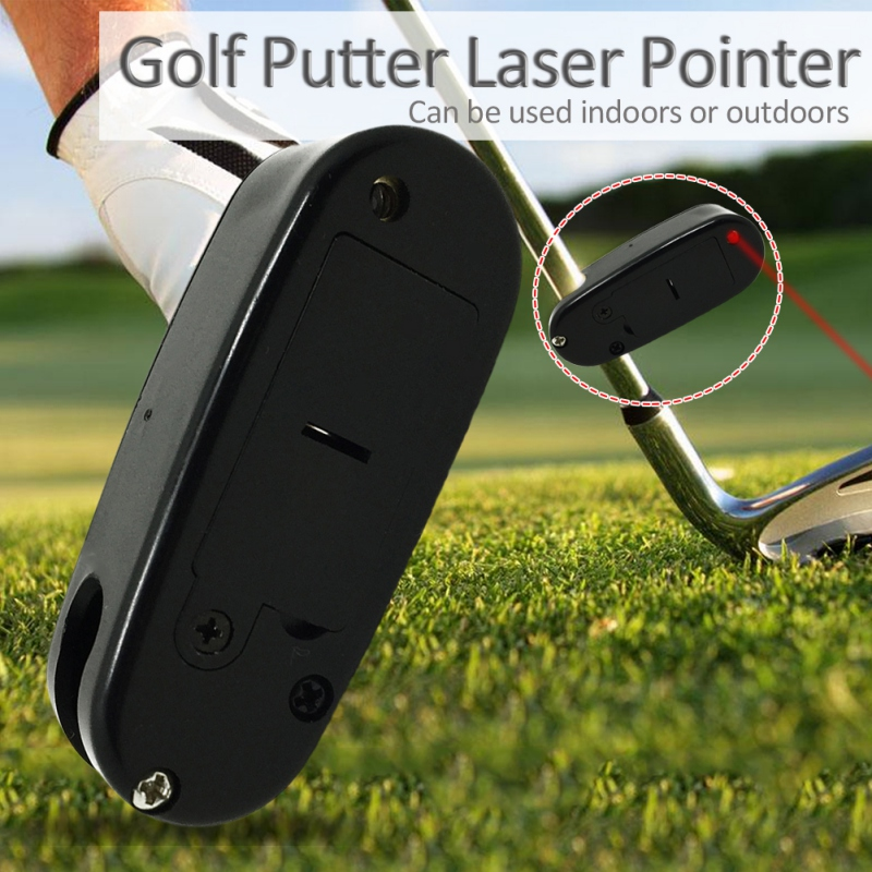Sports Outdoor Golf Putter Laser Pointer Putting Training Aim Line Corrector Improve Aid Tool Practice  Golf Accessories