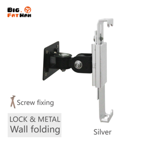 Image 2 - Security Wall Mount for 7 12 Inch Tablets Tablet PC Stand Screen 360 Degree Rotatable Holder Universal with lock for iPad angle