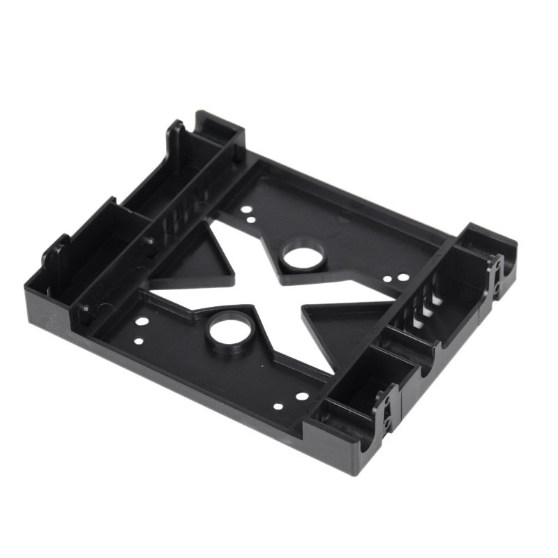 5.25 Optical Drive Position 3.5 Inch to 2.5 Inch SSD 8CM Fan HDD Adapter Tray Dock Hard Drive Holder for PC Enclosure