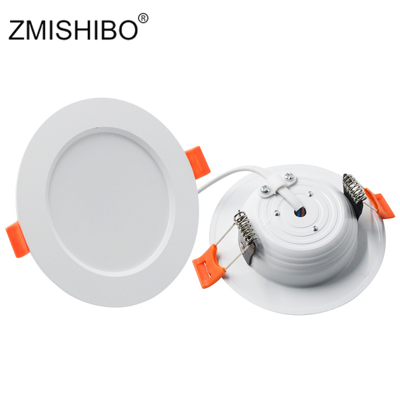 ZMISHIBO LED Recessed Downlights Ceiling Spot Lamp 3000K/4000K/6000K 3W 5W 7W 9W 12W 15W 18W 220V Living Room Kitchen Lamp