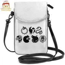 Seven Deadly Sins Nanatsu Shoulder Bag Seven Deadly Sins Leather Bag Multi Function Crossbody Women Bags Teenage Purse