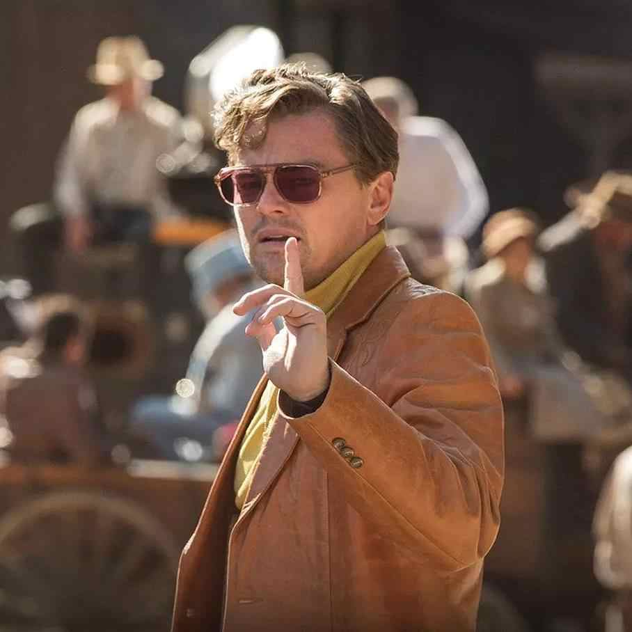 Cliff Booth Sunglasses Once Upon A Time In Hollywood Movie Costume Glasses Brown