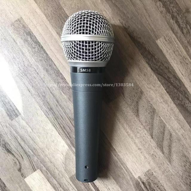 SM58LC Wired Microfono Live Voce Karaoke Handheld Unidirezionale Dinamico SM 58LC SM58 Microfone Microfono Mike Mic Professione