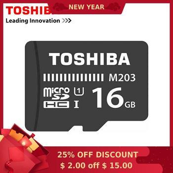 Toshiba U1 Memory Card Micro SD Card 16GB Class10 UHS-1 SDHC U1 Flash Memory Microsd for Smartphone/Table no have box
