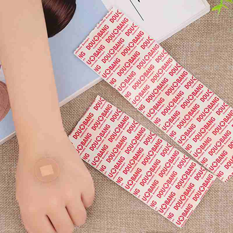 10PCs Waterproof Hypoallergenic Non-woven Medical Adhesive Wound Breathable disinfection Band aid Bandage  First Aid Outdoor