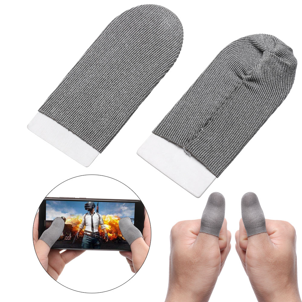 Breathable Game Controller Finger Cover Sweat Proof Gaming Finger Gloves Accessories Sensitive Mobile Touch Sleeve