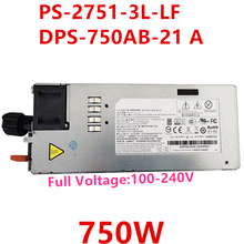 New PSU For Lenovo TD350 RD650 RD550 RD450 750W Power Supply PS-2751-3L-LF DPS-750AB-21 A