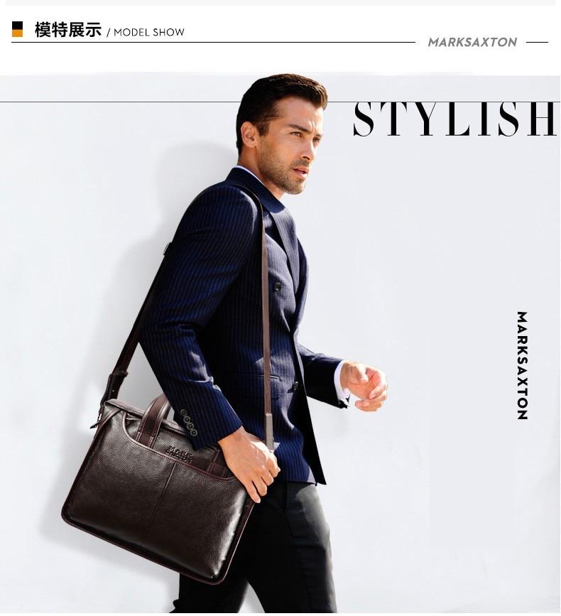 H32d5576fd7e94c51a7f4aafa59925fa8H 2019 New Fashion cowhide male commercial briefcase /Real Leather vintage men's messenger bag/casual Natural Cowskin Business bag