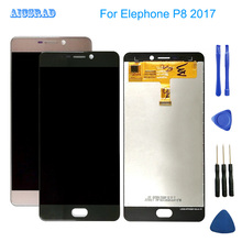 New For Elephone P8  ( 2017 ) 1920*1080 5.5inch Andriod 7.0 LCD Display+Touch Screen Digitzer Assembly p 8 Repair Panel Glass