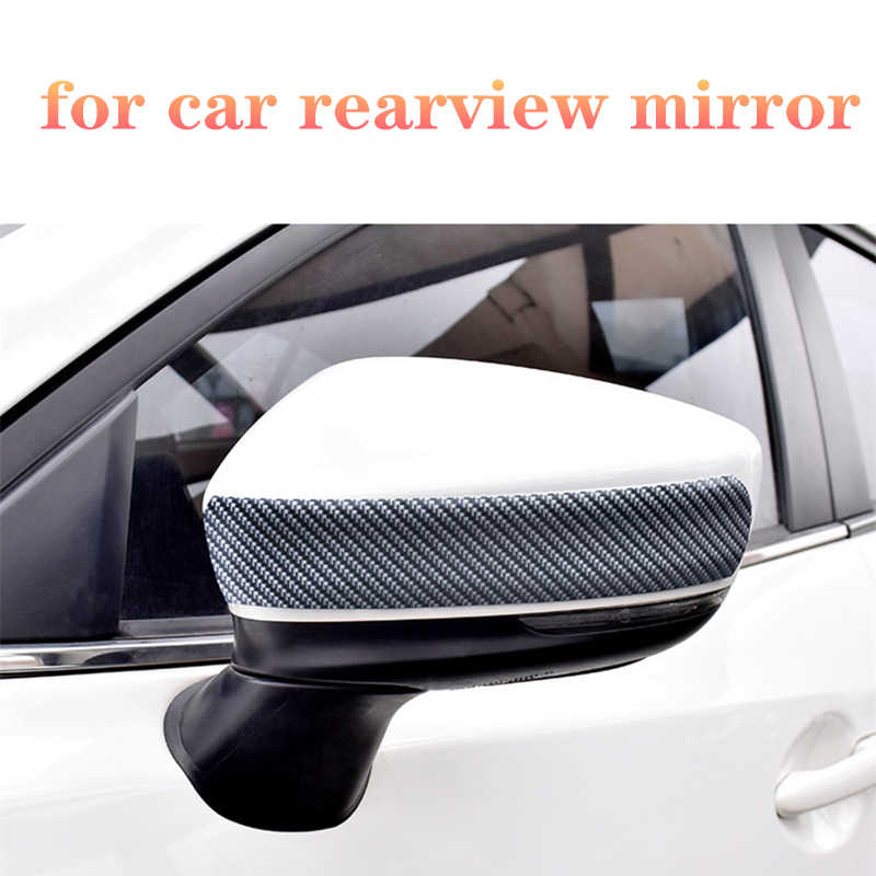 Carbon Faser Rubber Moulding Streifen Styling Tür Sill Protector Waren Für KIA Toyota BMW Audi Mazda Ford Hyundai Auto Aufkleber 1M