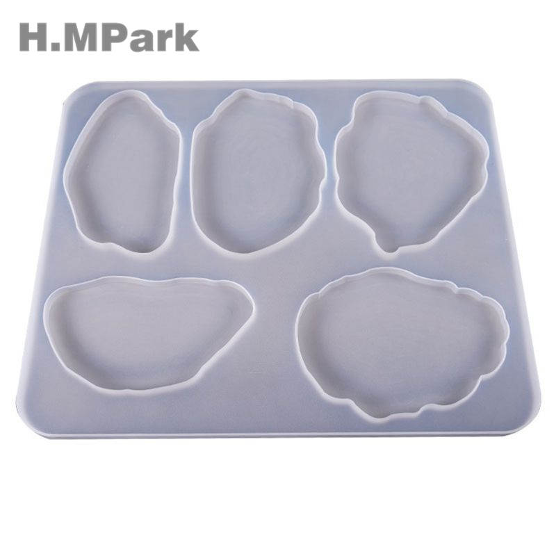 Large Table Decoration Mold Coaster Set Multi-standard Cup Mat Silicone Molds For Resin DIY Crystal UV Glue Epoxy Resin Mold