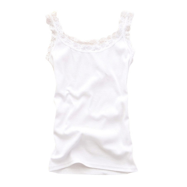 Women Sexy Tank Tops Multicolors Sleeveless Bodycon Temperament T-shirt Vest Summer Fashion Lace Camisole Top 2