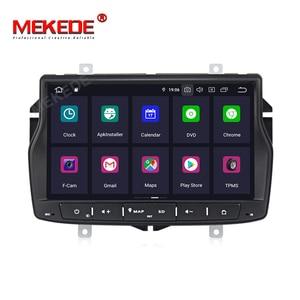 Image 3 - Rosyjski menu darmowa wysyłka 4G RAM 1din samochód multimedia radiowe odtwarzacz DVD dla Lada vesta Android 9.0 Octa core z wifi BT GPS