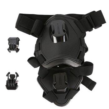цена на Harness Chest Strap For GoPro Hero 6 5 4 3 SJCAM SJ5000 SJ7 Xiaomi Yi 4K Lite H9 Dog Fetch Belt Mount for Go Pro Accessory