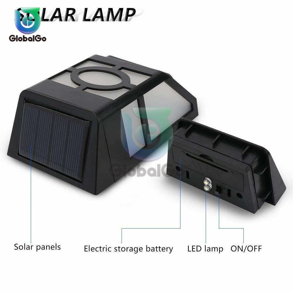 LED في الهواء الطلق الجدار الشمسية مصباح مقاوم للماء PIR محس حركة مصباح حديقة تعمل بالطاقة الشمسية الأضواء ضوء الشمس ضوء الشارع