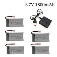 3.7v 1800mAh Oplaadbare Batterij lader set voor KY601S X5 X5S X5C X5SC X5SH X5SW M18 H5P H11D H11C t64 T04 T05 F28 F29 T56 T57