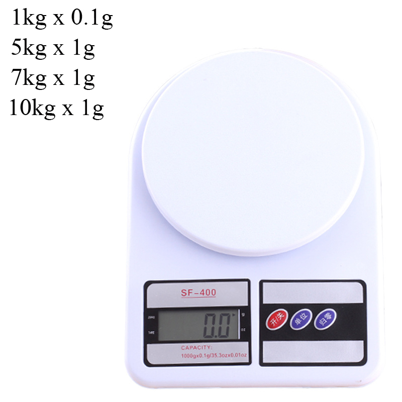 10kg//1g Precision Electronic Digital Kitchen Food Weight Scale Kitchen Tool FD