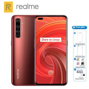 Перейти на Алиэкспресс и купить Смартфон Realme X50 Pro, 256 ГБ, 12 Гб, Snapdragon 865, 4200 мАч, 65 Вт, быстрая зарядка, четыре камеры 64 мп, NFC