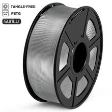 PETG filamento de impresora 3D, carrete de alta resistencia, No tóxico, 100%, sin filamentos de burbuja, 1kg, 1,75mm de tolerancia, 0,02mm, FDM