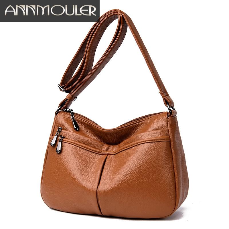 Fashion Women Shoulder Bag Quality Leather Crossbody Bag Luxury Designer Messenger Bag Casual Tote Bag Purse Lady Handbag Bolsa