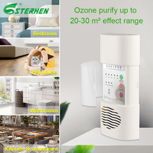 Home Air Filter Purifier Ozone Sterilizer Wall Mounted Ozone Generator 110V 220V air purifier deodorizer For fomadehyde removal 55w odor smoke ozone air purifier cleaner generator sterilization clean air home office deodorizer sterilizer antiperspirant