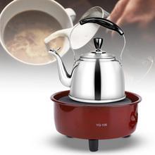 Мини электрическая плита мощностью 500 Вт, плита для приготовления кофе, электрическая плита с нагревателем, многофункциональный нагреватель для кофе и чая, бытовая техника