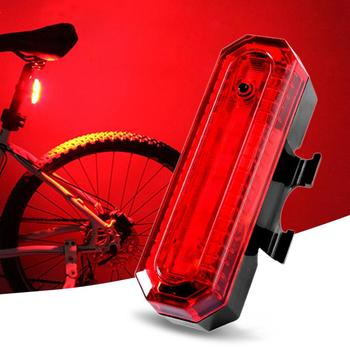 Cycle Front Rear Tail Light Headlight Lamp FS2 Bicycle Accessories Bicycle Lights USB Rechargeable LED Bike Bicycle image