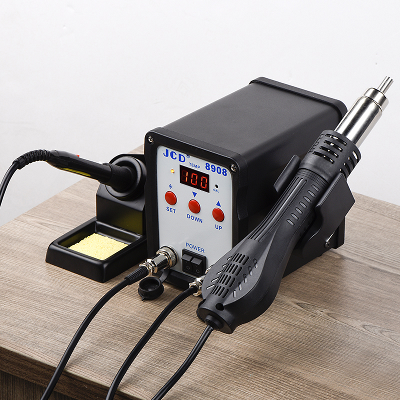 Hot DealsJCD Welding-Repair-Machine Soldering-Station Hot-Air-Gun Station-8908 Rework Smd Bga